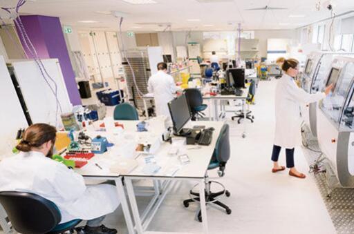 随着格兰塔公园总部的搬迁 Metrion的实验室空间增加了一倍多